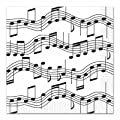 Musical Notes Luncheon Napkins