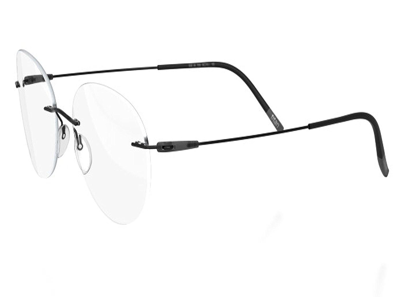 d6524c5bbaebd Amazon.com  Silhouette Eyeglasses DYNAMICS Colorwave 5500 with DEMO lens  (black slate 51mm-19mm-145mm