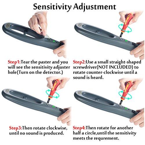 Hand Held Metal Detector,V-Resourcing Portable High Sensitivity Metal Detector for Security Inspection by V-Resourcing (Image #6)