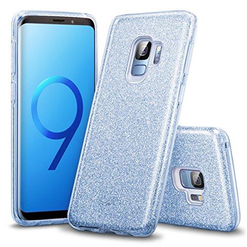 Shell S9 Anti galaxy Ultra Bleu Or Galaxy Coque Protection Samsung Plus De Fin Rose Housse S9 Bumper Pour Plus Choc Glitter s9 Etui Bling Adamark Silicone S9 Luxe fqUtOnZ