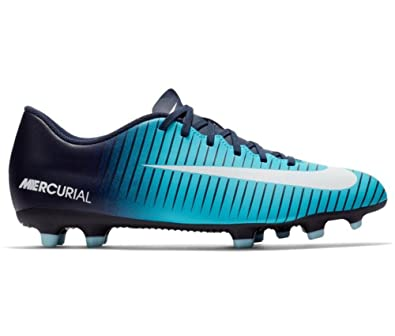 acef13525 Nike Mercurial Vortex III FG Mens Soccer Firm Ground Cleats (10.5 D ...