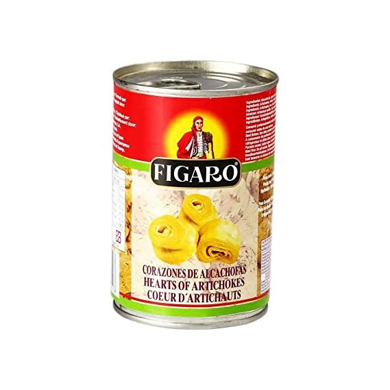 Figaro Hearts of Artichokes, 390 g