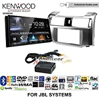 Volunteer Audio Kenwood DDX9904S Double Din Radio Install Kit with Apple CarPlay Android Auto Bluetooth Fits 2010-2013 Toyota 4Runner with Amplified System