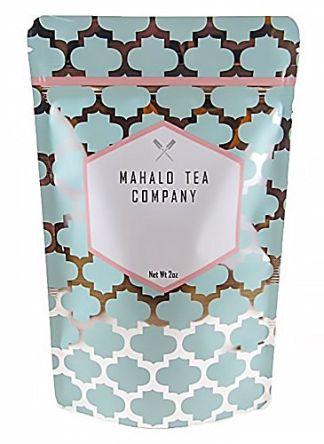 Mahalo Tea Peach Serenity White & Green Tea - Loose Leaf Tea - 2oz by Mahalo Tea (Image #2)