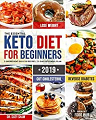 Do you want the healthy body you have always dreamt of?                       In this #1 best seller, you'll learn how to cook 2019's most affordable, quick & easy 5-ingredient recipes for beginners on the ketog...