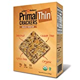 Primal Thin Crackers (Parmesan)(Organic)(Low Carb, Gluten Free, Grain Free) (8.4oz)