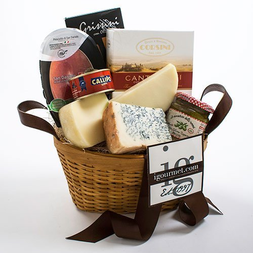 Italian Classic Gift Basket (2.9 pound) (Gift Baskets Of Italian Foods)