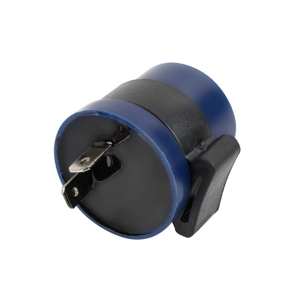 ZYTC 6V 12V Universal Motorcycle LED Flasher Relay Indicatore di direzione con cicalino impermeabile