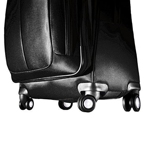 Samsonite Luggage Hyperspace Spinner 30.5 Expandable Suitcase, Galaxy Black, One Size/31""