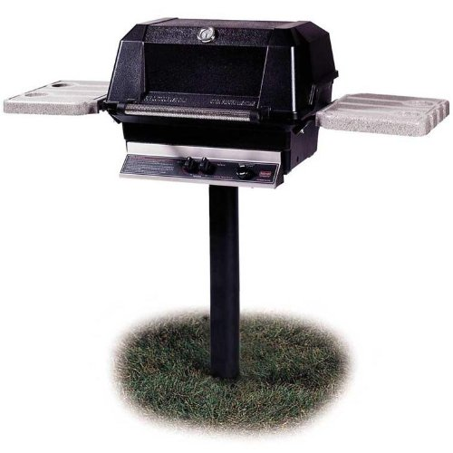 Mhp Gas Grills Wnk4 Natural Gas Grill W/ Searmagic Grids On In-ground ()