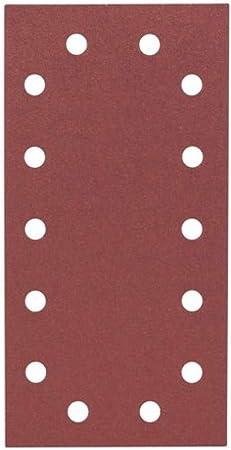 """Papier abrasif 16/"""" 405//406//407//410 mm double face Grain K 80 Grit k80"""