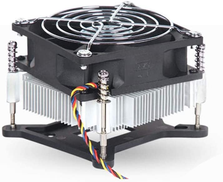Hexiaoyi CPU Cooler 1156 Pure Aluminum CPU Cooling Fan 11561155 Platform Pure Aluminum CPU Cooler