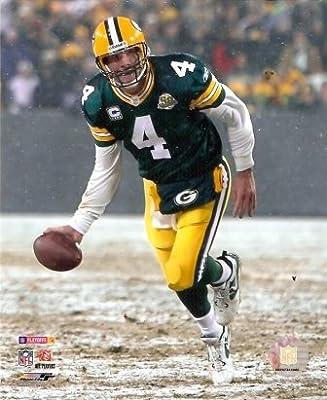 Brett Favre Packers 2007 Playoffs Shovel Pass 8x10 Photo