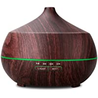 TONERONE 400ml Ultrasonic Aroma Essential Oil Diffuser...