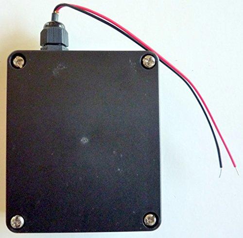 Philmore Waterproof Battery Holder for 4 AA Batteries Cells for Indoor Outdoor (Rocket Aa Batteries)
