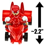 Knuckles the Echidna ~2 2 Mini Figure Pull Back Racer: Sonic the Hedgehog Pull Back Series [1]