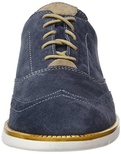Josef Seibel Tyler 05 - Zapatos de cordones derby Hombre Azul - Blau (jeans/biber)