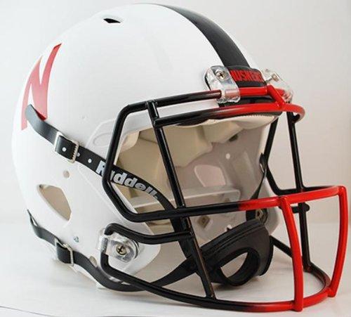Nebraska Cornhuskers Official NCAA Revolution Speed Pro Line Helmet by Riddell by Riddell