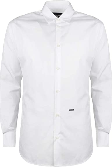 DSQUARED2 Camisa Slim - S74DM0256 - L: Amazon.es: Ropa y accesorios