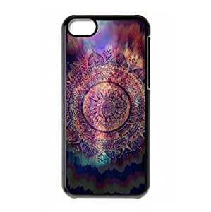 Hard back shell with Mandala style for iPhone 5C