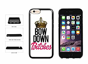 Bow Down Bitches TPU RUBBER SILICONE Phone Case Back Cover Apple iPhone 6 Plus (5.5 inches screen) includes BleuReign(TM) Cloth and Warranty Label