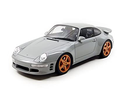 GT Spirit 1/18 Scale Resin - GT145 Porsche 993 Ruf Turbo Limited Grey Model
