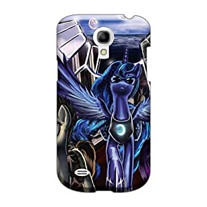 Great Cell-phone Hard Cover For Samsung Galaxy S4 Mini (MYx13079rMLr) Provide Private Custom Realistic Colorful Pain Mlp Pictures