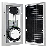 HQST 10 Watts 12 Volts Monocrystalline Solar Panel for DC 12V Battery Charging and Any Other Off Grid Applications