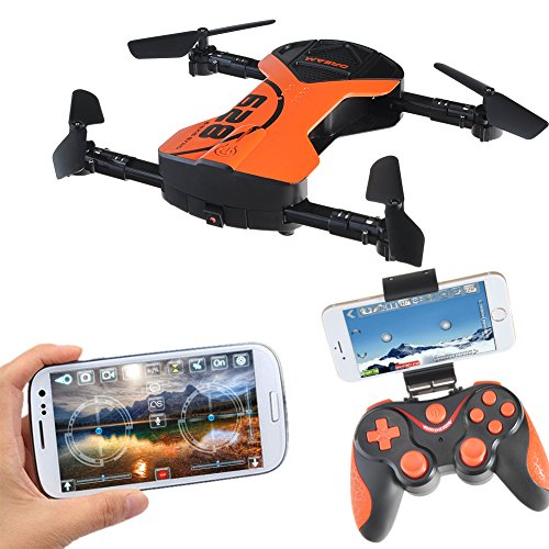 Foldable RC Drone with APP Voice Control Flight Aerial Control