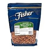 Fisher Chefs Naturals Frosted Medium Walnut Piece, 2 Pound - 3 per case.