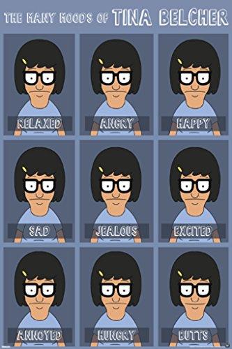 Bobs Burgers Moods of Tina TV Show Poster