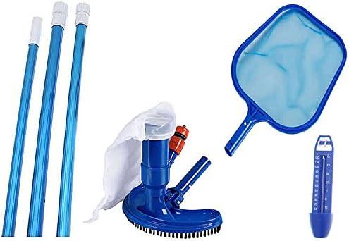 4 piezas. Set de limpieza con cepillo Limpiafondos Termómetro, red ...