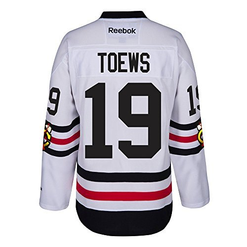 Reebok Chicago Blackhawks Adult Jonathan Toews 2017 Winter Classic Premier Jersey - Team Color #19, Medium