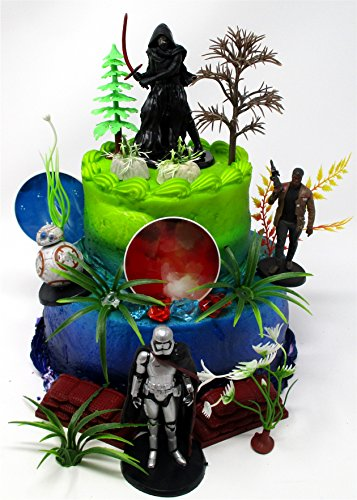 Cake Toppers Star Wars Birthday Set Featuring Star Wars Char