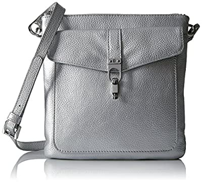 Tommy-Hilfiger-Kira-Leather-Crossbody--Silver