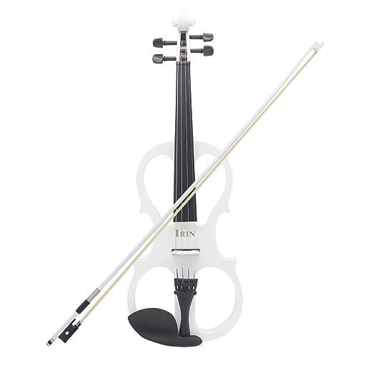 3 opinioni per ammoon 4/4 Violino Elettrico Acero di Legno Strumento a Corde Fiddle con il Cavo