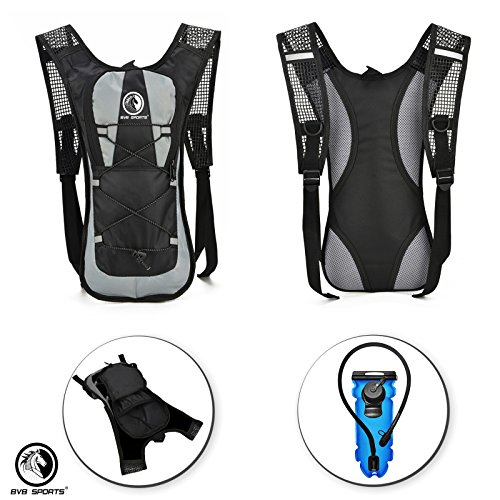 Bike Accessories & Cycling Equipment Set : Bicycle Phone Handlebar Mount (iPhone, Samsung, Etc.), Water Backpack, Bicycles Seats Cushion Cover, Under Seat Pouch, Bikes Repair Tool Kit, Mini Pump by BvBbicycle (Image #2)