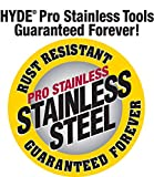 Hyde Tools 09357 8-Inch Pro Stainless Steel
