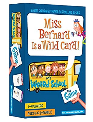 All Things Equal, Inc. Miss Bernard is a Wild Card - The My Weird School Game