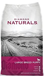 Diamond Naturals Dry Food for Puppy, Large Breed Lamb and Rice Formula, 6 Pound Bag