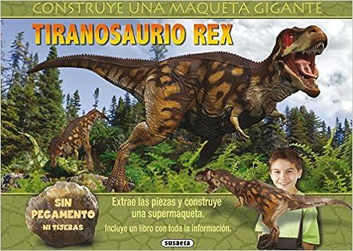 Tiranosaurio Rex (Maquetas gigantes): Amazon.es: Equipo ...
