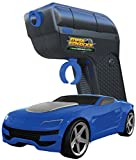 Max Traxxx R/C Tracer Racers High Speed Remote Control 1:64 Scale Race Car - Blue, Channel C