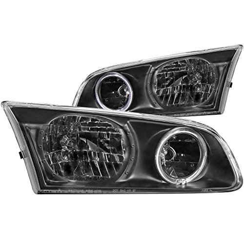 Anzo USA 121123 Toyota Camry with Halo Black Headlight Assembly - (Sold in Pairs) ()