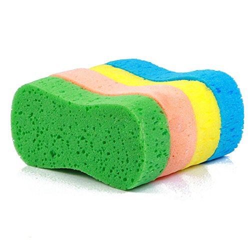 JUJU MALL-1Pc Vacuum Compressed Car Wash Sponge Magic Cleaning Accessories - Boulder Sunglasses