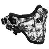 Tactical Crusader 2G Airsoft Strike Steel Half Mask
