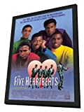 The Five Heartbeats - 27 x 40 Framed Movie Poster
