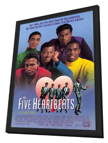 The Five Heartbeats - 27 x 40 Framed Movie Poster by Movie Posters