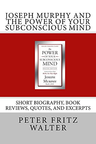 Amazoncom Joseph Murphy And The Power Of Your Subconscious Mind