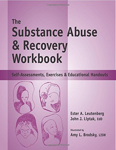 Worksheet Substance Abuse Group Worksheets the substance abuse recovery workbook self assessments exercises educational handouts john j liptak edd ester r a