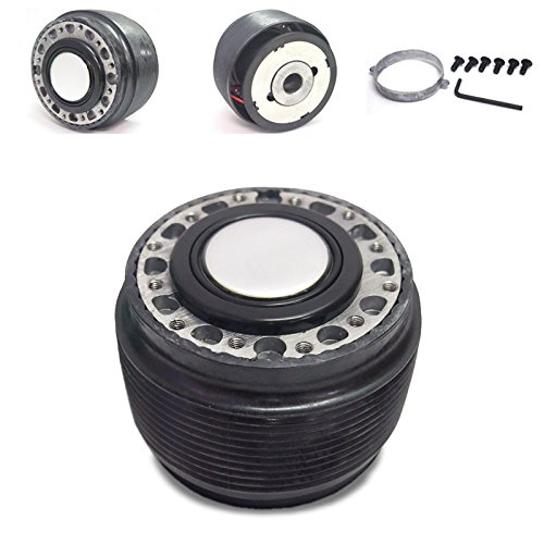 - Black 6-Hole Racing Steering Wheel Hub Adapter For Nissan 240SX/300ZX/Sentra/Altima